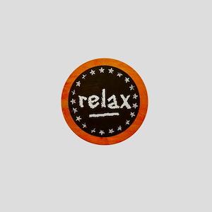 Relax Mini Button