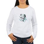 Skull & Crossbones 2 Women's Long Sleeve T-Shirt
