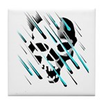 Skull & Crossbones 2 Tile Coaster