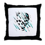 Skull & Crossbones 2 Throw Pillow