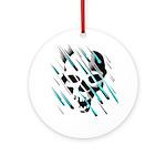 Skull & Crossbones 2 Ornament (Round)
