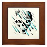 Skull & Crossbones 2 Framed Tile