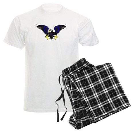 Black and Blue Eagle pajamas