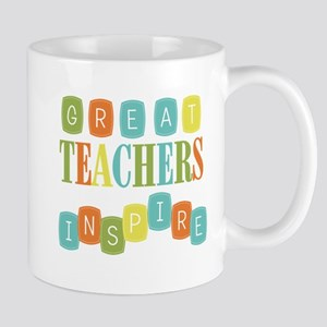 Great Teachers Inspire Mug