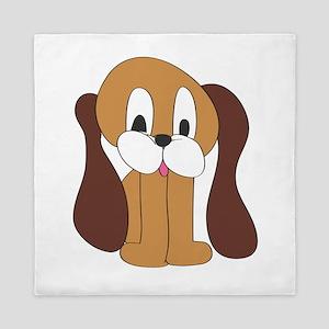Cartoon Dog Queen Duvet