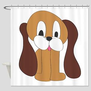 Cartoon Dog Shower Curtain