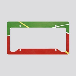 Basketball court License Plate Holder
