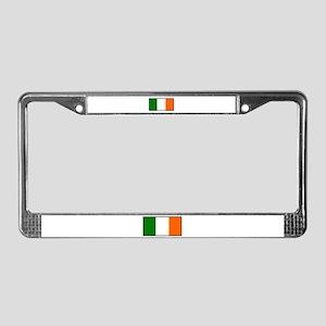 Irish Flag License Plate Frame