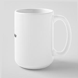 DON'T BODY YOURSELF Large Mug