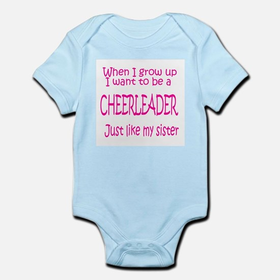 CheerBaby...just like Sister Infant Bodysuit