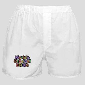 Worlds Greatest Erika Boxer Shorts
