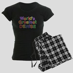 Worlds Greatest Denise Pajamas