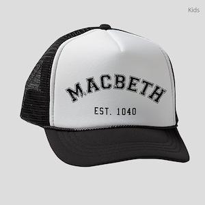 Macbeth Kids Trucker Hats - CafePress 91c092f0c9e