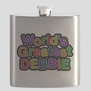 Worlds Greatest Debbie Flask