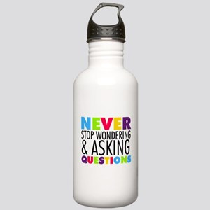 Never Stop Wondering Stainless Water Bottle 1.0L