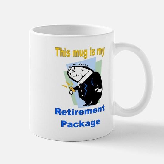 My Retirement Package Mug