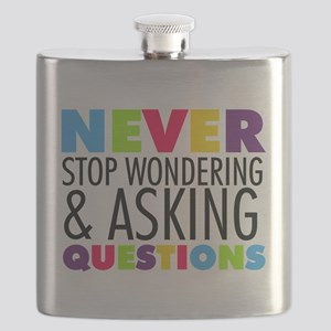 Never Stop Wondering Flask