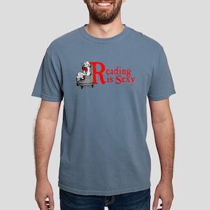 reading-sexy Mens Comfort Colors Shirt