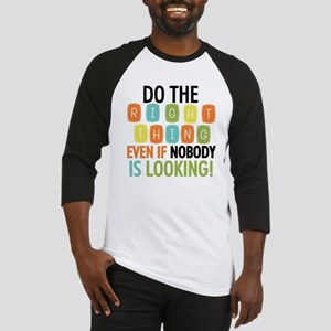 Do The Right Thing Baseball Jersey