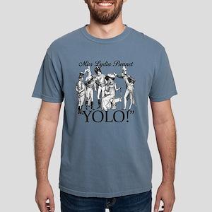Lydia Bennet YOLO Mens Comfort Colors Shirt