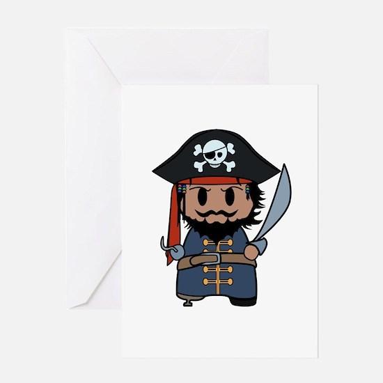 pirate Greeting Card