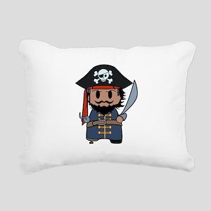 pirate Rectangular Canvas Pillow