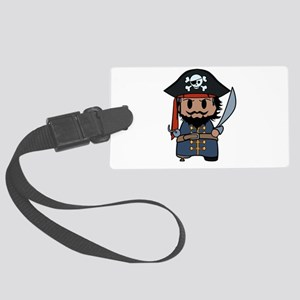 pirate Large Luggage Tag