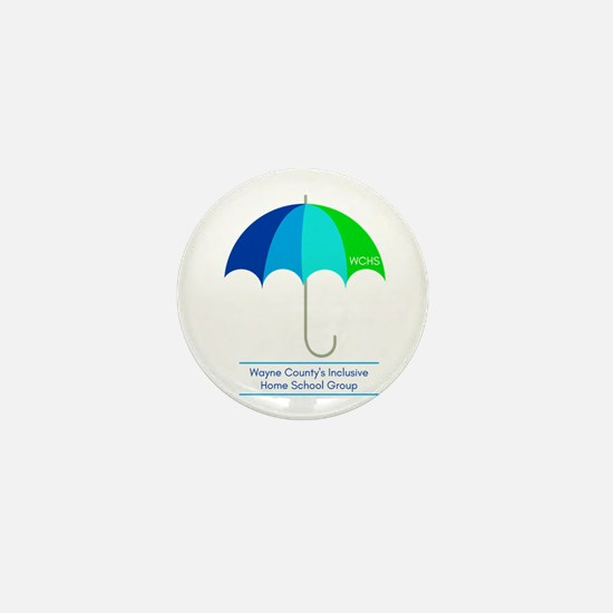 WCHS_Under the Umbrella Mini Button