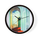 Deco Arch Wall Clock