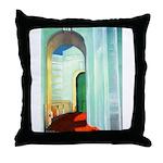 Deco Arch Throw Pillow