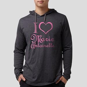 i-love-marie-antoinette_pink Mens Hooded Shirt