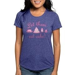 let-them-eat-cake_pk2 Womens Tri-blend T-Shirt