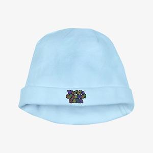 Worlds Greatest Cara baby hat