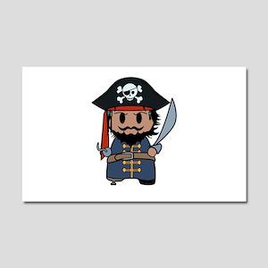 pirate Car Magnet 20 x 12