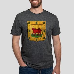 borgia-arms-distressed Mens Tri-blend T-Shirt