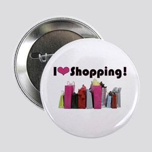 "I Love Shopping 2.25"" Button"