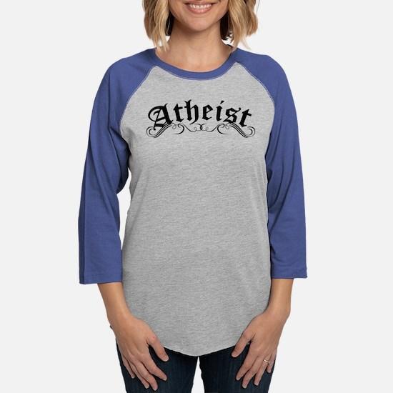 Atheist Womens Baseball Tee