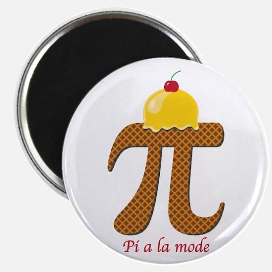 Pi a la mode Magnets