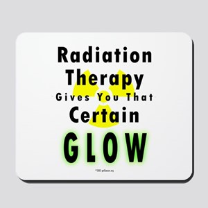 Radiation Glow Mousepad