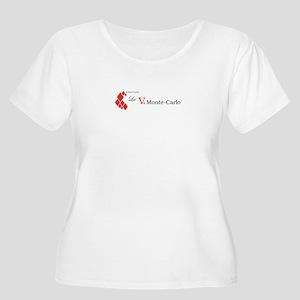 La Vie Monte-Carlo logo Plus Size T-Shirt