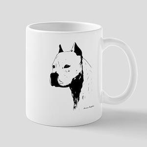 stamp design pitbull,amstaff,bully head design Mug