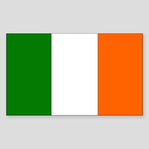 Irish Flag Rectangle Sticker