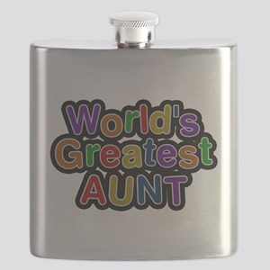 Worlds Greatest Aunt Flask