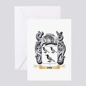 Iain Coat of Arms - Family Crest Greeting Cards