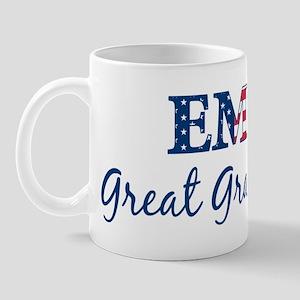 Great Grandma: Patriotic EMT Mug