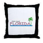 Visit Scenic Florida Throw Pillow