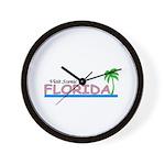 Visit Scenic Florida Wall Clock