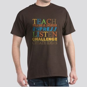Teacher Creed Dark T-Shirt