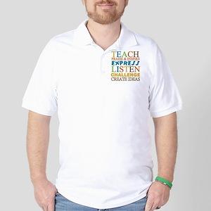 Teacher Creed Golf Shirt