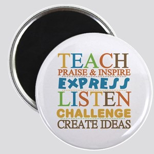 Teacher Creed Magnet